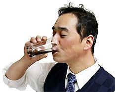 店長!梅エキス飲んでます
